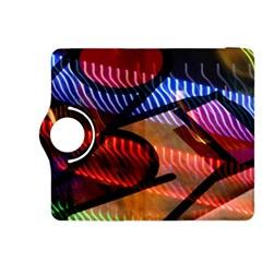 Graphic Shapes Experimental Rainbow Color Kindle Fire HDX 8.9  Flip 360 Case