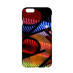 Graphic Shapes Experimental Rainbow Color Apple iPhone 6/6S Hardshell Case