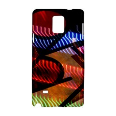 Graphic Shapes Experimental Rainbow Color Samsung Galaxy Note 4 Hardshell Case