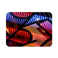 Graphic Shapes Experimental Rainbow Color Double Sided Flano Blanket (Mini)