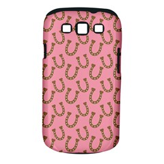 Horse Shoes Iron Pink Brown Samsung Galaxy S III Classic Hardshell Case (PC+Silicone)
