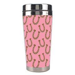 Horse Shoes Iron Pink Brown Stainless Steel Travel Tumblers