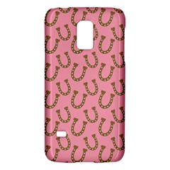Horse Shoes Iron Pink Brown Galaxy S5 Mini