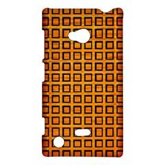 Halloween Squares Plaid Orange Nokia Lumia 720