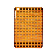 Halloween Squares Plaid Orange iPad Mini 2 Hardshell Cases