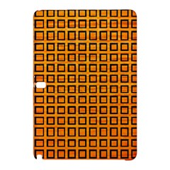 Halloween Squares Plaid Orange Samsung Galaxy Tab Pro 10.1 Hardshell Case