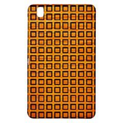 Halloween Squares Plaid Orange Samsung Galaxy Tab Pro 8.4 Hardshell Case