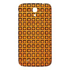 Halloween Squares Plaid Orange Samsung Galaxy Mega I9200 Hardshell Back Case