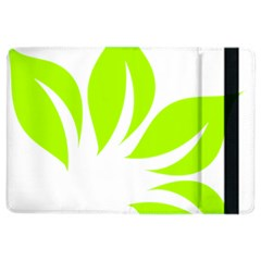 Leaf Green White iPad Air 2 Flip