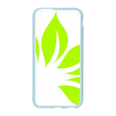 Leaf Green White Apple Seamless iPhone 6/6S Case (Color)