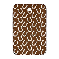 Horse Shoes Iron White Brown Samsung Galaxy Note 8.0 N5100 Hardshell Case
