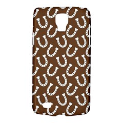 Horse Shoes Iron White Brown Galaxy S4 Active