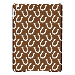 Horse Shoes Iron White Brown iPad Air Hardshell Cases