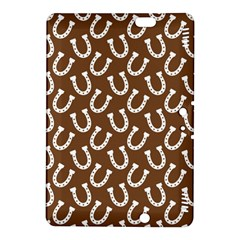 Horse Shoes Iron White Brown Kindle Fire HDX 8.9  Hardshell Case