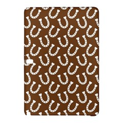 Horse Shoes Iron White Brown Samsung Galaxy Tab Pro 10 1 Hardshell Case
