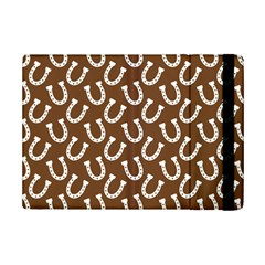 Horse Shoes Iron White Brown iPad Mini 2 Flip Cases