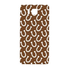 Horse Shoes Iron White Brown Samsung Galaxy Alpha Hardshell Back Case