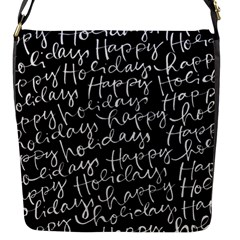 Happy Holidays Flap Messenger Bag (S)