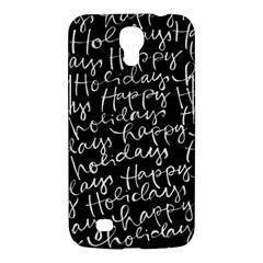 Happy Holidays Samsung Galaxy Mega 6.3  I9200 Hardshell Case