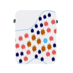 Island Top View Good Plaid Spot Star Apple iPad 2/3/4 Protective Soft Cases