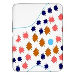 Island Top View Good Plaid Spot Star Samsung Galaxy Tab 3 (10 1 ) P5200 Hardshell Case
