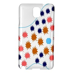 Island Top View Good Plaid Spot Star Samsung Galaxy Note 3 N9005 Hardshell Case