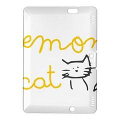 Lemon Animals Cat Orange Kindle Fire HDX 8.9  Hardshell Case