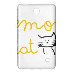 Lemon Animals Cat Orange Samsung Galaxy Tab 4 (7 ) Hardshell Case