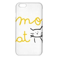 Lemon Animals Cat Orange iPhone 6 Plus/6S Plus TPU Case