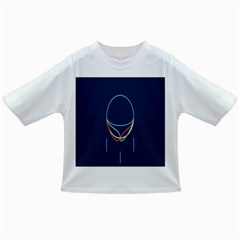 Line Light Blue Green Red Yellow Infant/Toddler T-Shirts