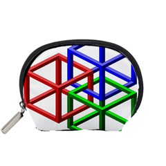 Impossible Cubes Red Green Blue Accessory Pouches (Small)