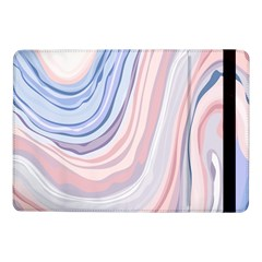 Marble Abstract Texture With Soft Pastels Colors Blue Pink Grey Samsung Galaxy Tab Pro 10.1  Flip Case