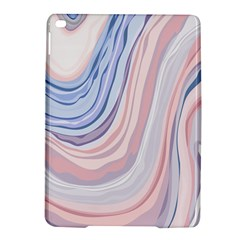 Marble Abstract Texture With Soft Pastels Colors Blue Pink Grey iPad Air 2 Hardshell Cases