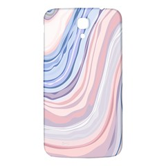 Marble Abstract Texture With Soft Pastels Colors Blue Pink Grey Samsung Galaxy Mega I9200 Hardshell Back Case