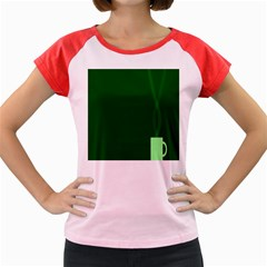 Mug Green Hot Tea Coffe Women s Cap Sleeve T-Shirt