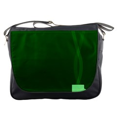 Mug Green Hot Tea Coffe Messenger Bags