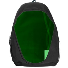 Mug Green Hot Tea Coffe Backpack Bag