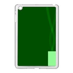 Mug Green Hot Tea Coffe Apple iPad Mini Case (White)