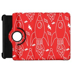 Moon Red Rocket Space Kindle Fire HD 7