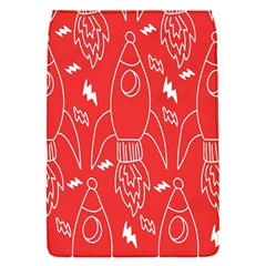 Moon Red Rocket Space Flap Covers (S)