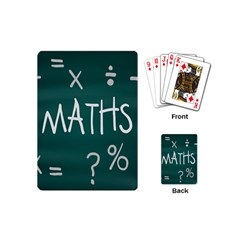 Maths School Multiplication Additional Shares Playing Cards (Mini)