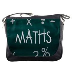 Maths School Multiplication Additional Shares Messenger Bags
