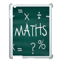 Maths School Multiplication Additional Shares Apple iPad 3/4 Case (White)