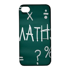 Maths School Multiplication Additional Shares Apple iPhone 4/4S Hardshell Case with Stand