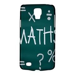 Maths School Multiplication Additional Shares Galaxy S4 Active