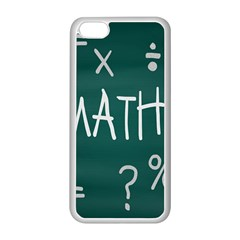 Maths School Multiplication Additional Shares Apple iPhone 5C Seamless Case (White)