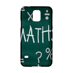Maths School Multiplication Additional Shares Samsung Galaxy S5 Hardshell Case