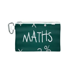 Maths School Multiplication Additional Shares Canvas Cosmetic Bag (S)