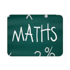Maths School Multiplication Additional Shares Double Sided Flano Blanket (Mini)