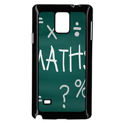 Maths School Multiplication Additional Shares Samsung Galaxy Note 4 Case (Black)